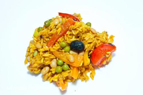 Паелья (вегетаріанська)