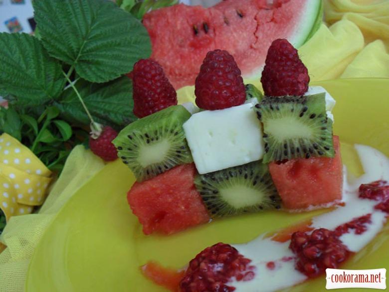 Рецепты салата на десерт
