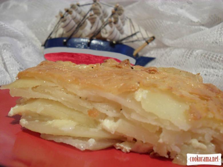 Картофель Гратин Дофинэ