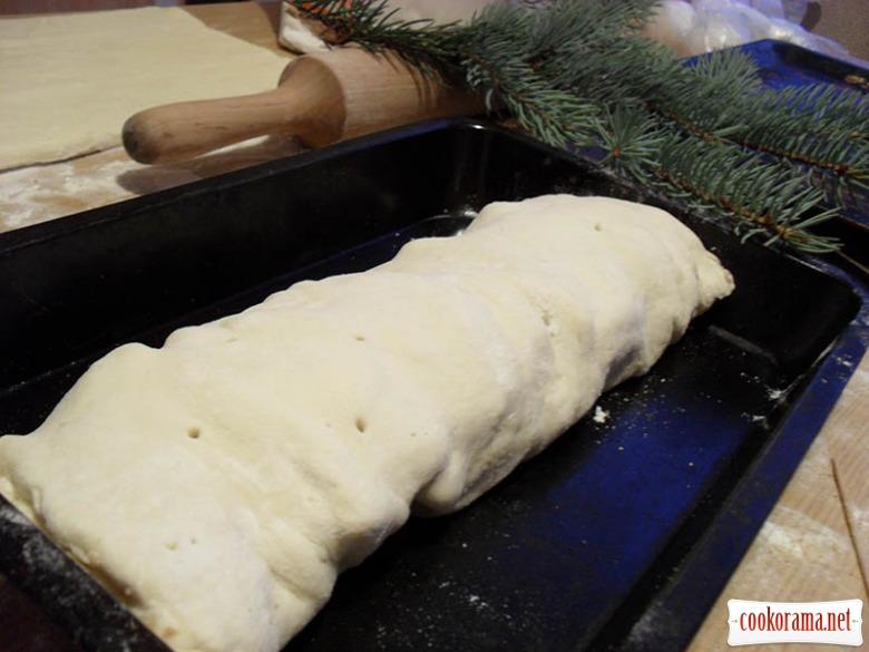 Венский рождественский штрудель (яблочный)(Apfelstrudel)