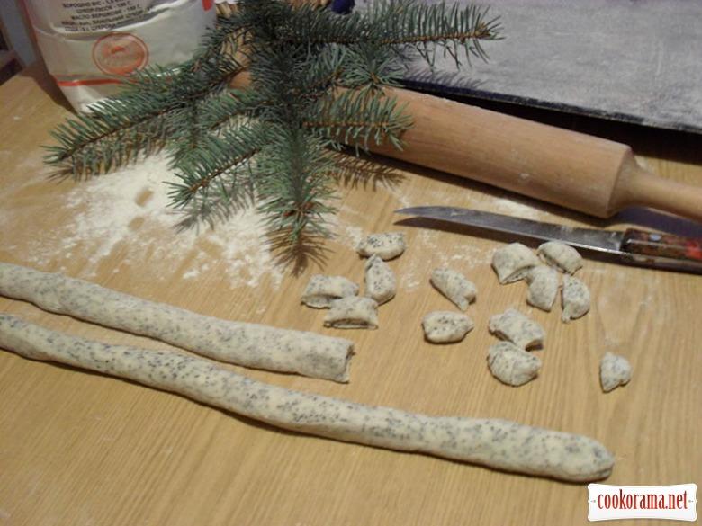 Слижики (Кучукай) литовское рождественское печенье