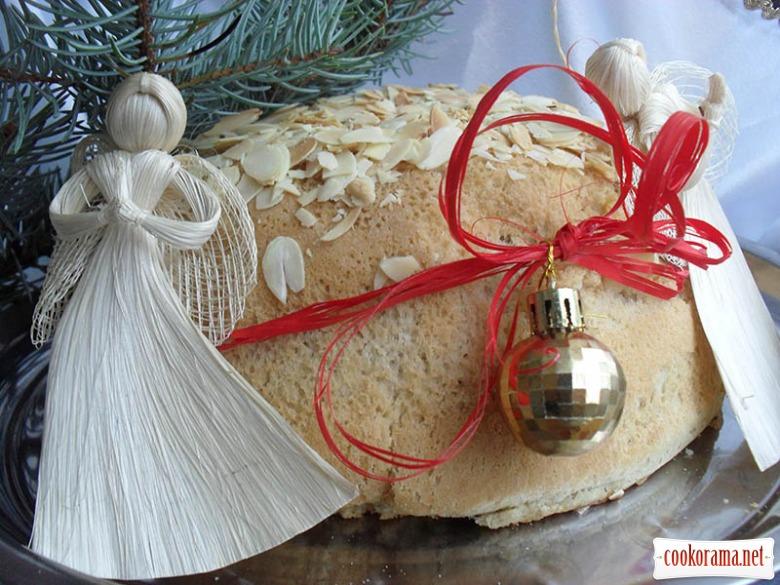 Греческий новогодний пирог Василопита