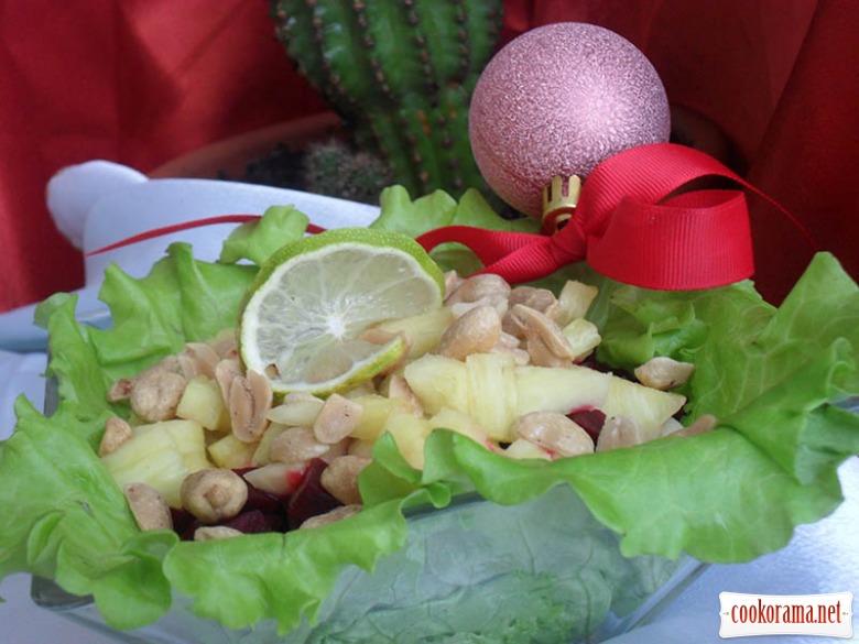 Мексиканский рождественский салат