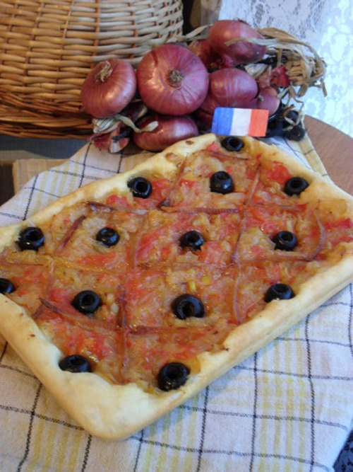 Піссалад'єр, прованський цибульний пиріг