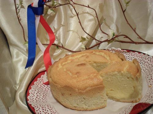 Французький сирний торт
