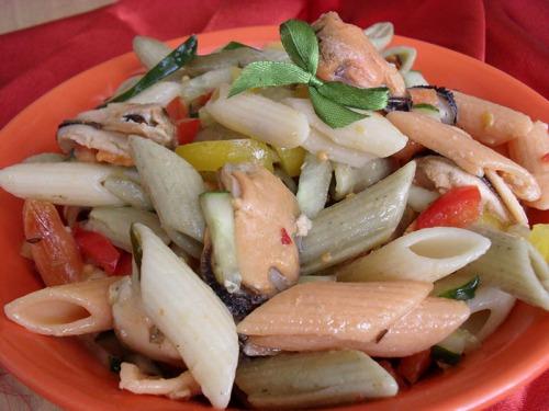 """Salad """"Tricolor"""""""