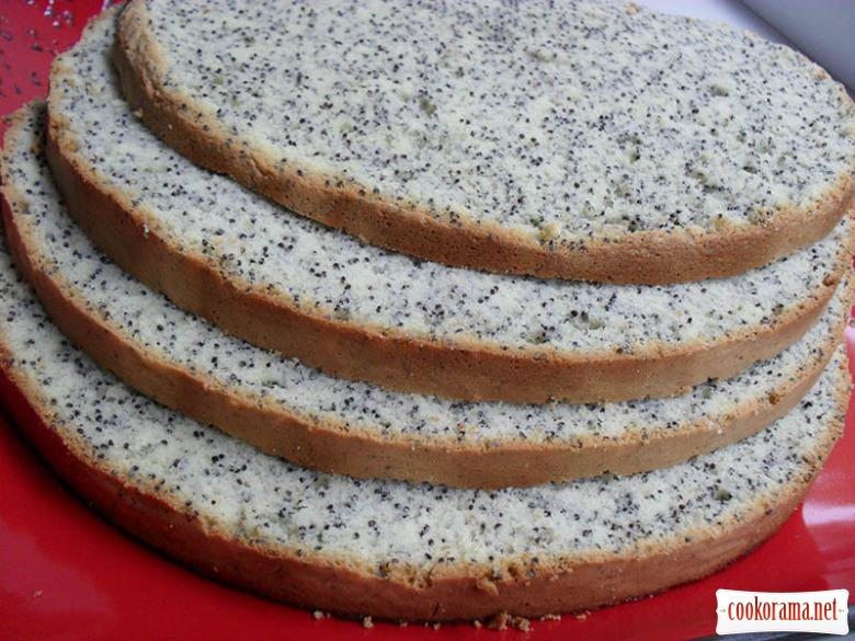 Рецепт торта с маком