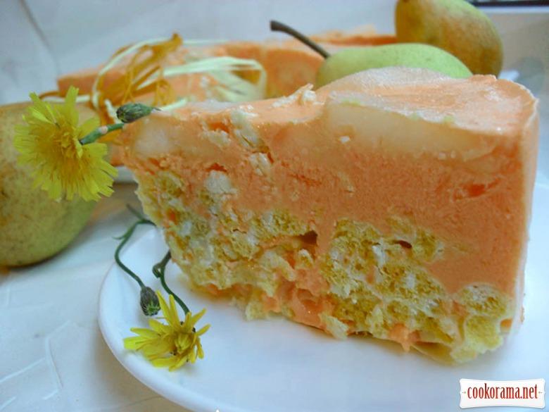 Торт «Осенний джаз» без выпечки