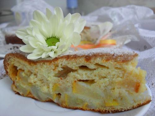 Torta integrale di pere (Грушевый пирог с цельнозерновой мукой) от Эллы Мартино