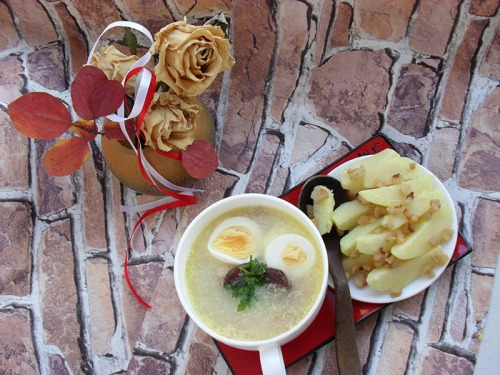 Zhur (zurek) –polish  Easter soup