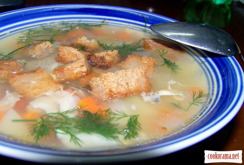 Рыбный суп из головы семги рецепт с фото в мультиварке