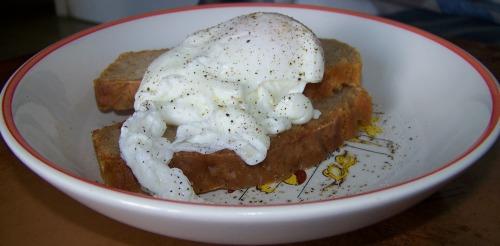 Яйця по-бенедиктинськи на пивному хлібці