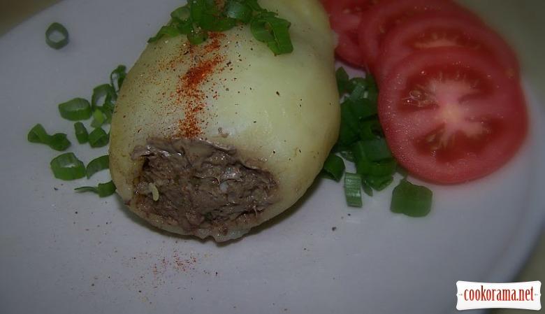 Фарширована картопля