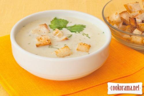 Суп из порея по-итальянски