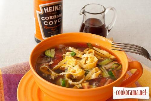 Холодный суп «кукси»