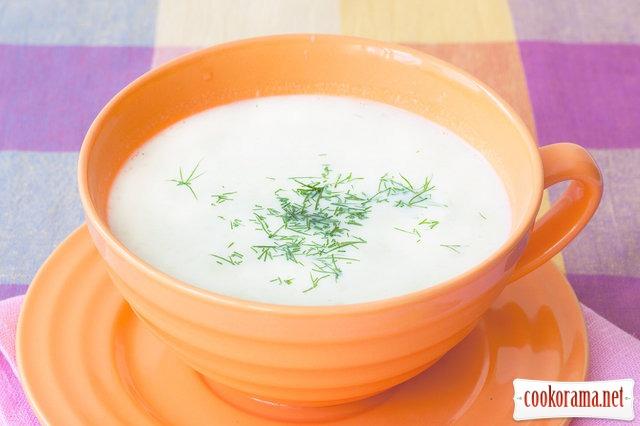 Суп з порею по-англійськи