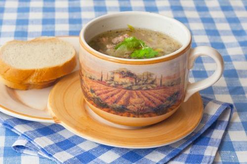 Суп з порею по-німецьки