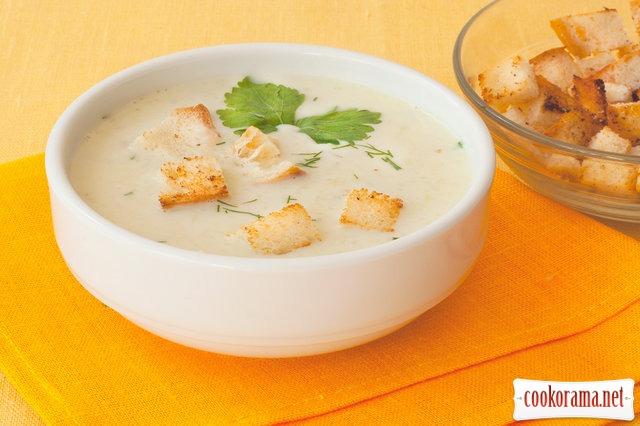 Суп з порею по-італійськи