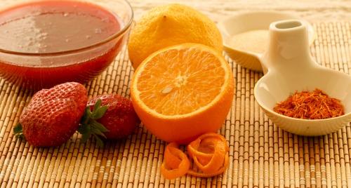 Желе полунично-лимонне