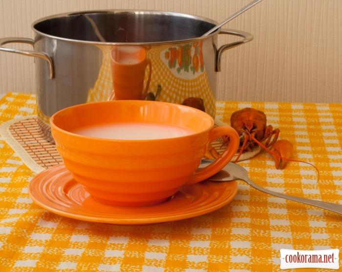 Суп пивний з раками