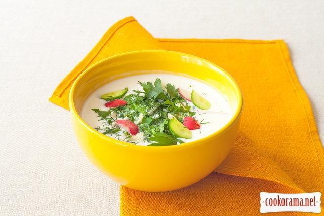Холодный летний суп чалоп
