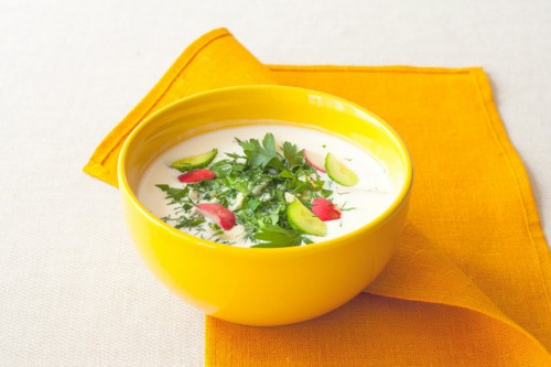 Cold summer soup chalop