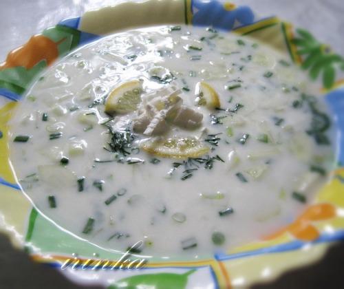 Огірковий суп