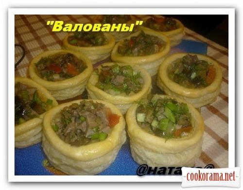 Шикарна смачна закуска «Воловани»