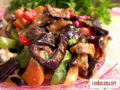 Теплый салат «По-грузински»