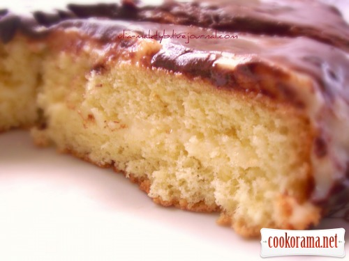 Бостонский кремовый торт (Boston Cream Pie & Creme Patissiere)
