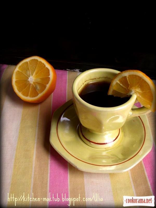 Кава з лимоном