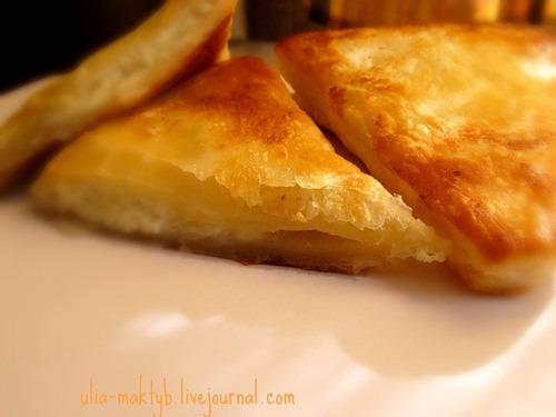 Хачапурі по-швидкому з листкового тіста