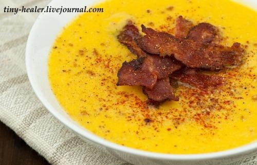 Крем-суп. Цветная капуста и сыр