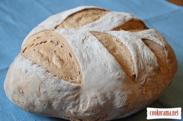 Хліб на молочній сироватці з медом