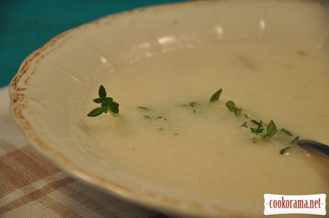 Луковый суп с белым вином