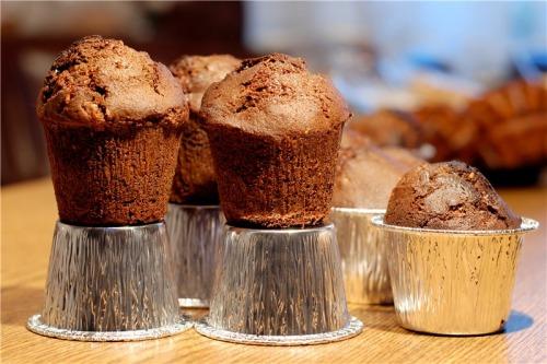 Подвійні шоколадні кекси