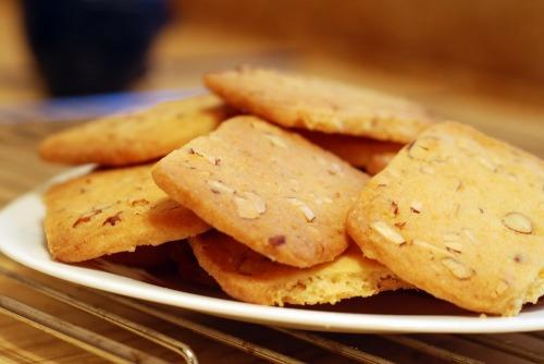 Миндально-грейпфрутовое печенье
