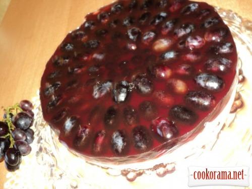 Виноградний торт