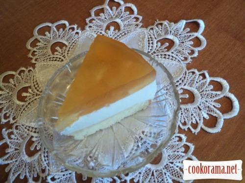 Торт «Ананасы в шампанском»