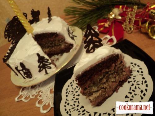 Торт «Черный дракон»