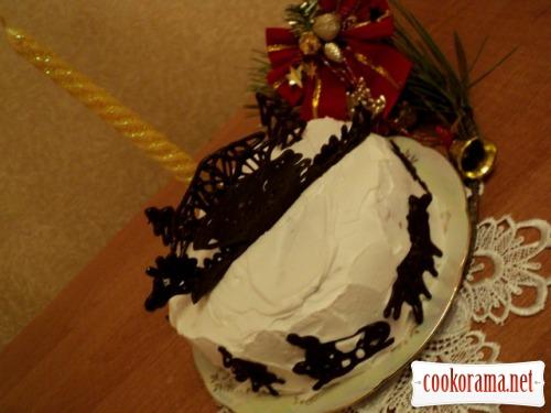 Торт «Чорний дракон»