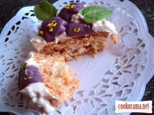 Пирожное «Фиалки»