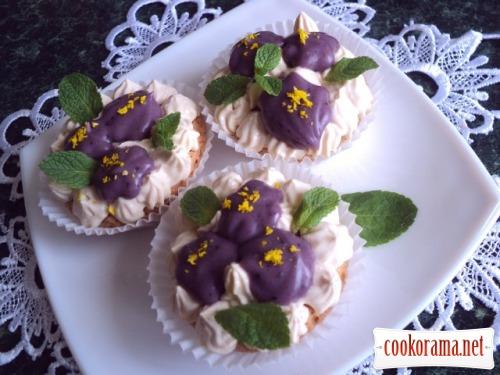 Cake «Violets»