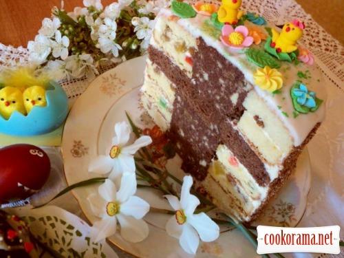 Пасхальний торт і бонус - тістечка