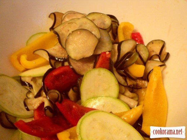 Овощи-гриль.