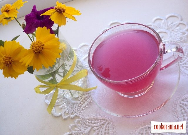 Медово-базиликовый напиток