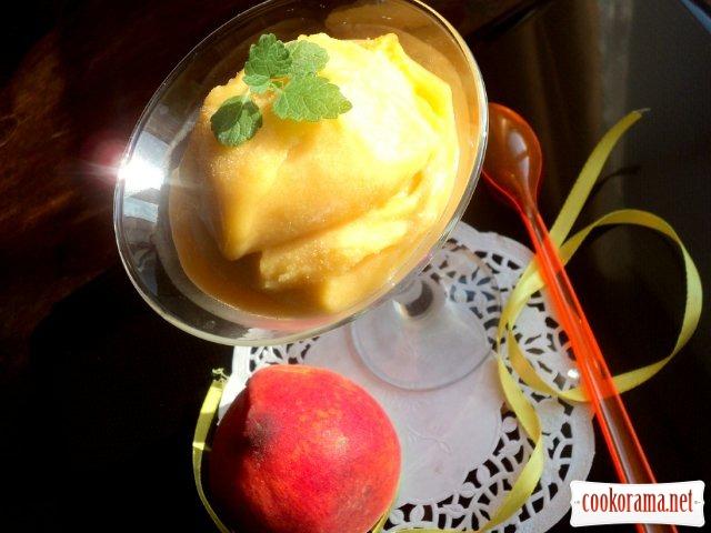 Персиковый щербет