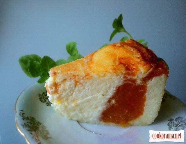 Сырник с хурмой