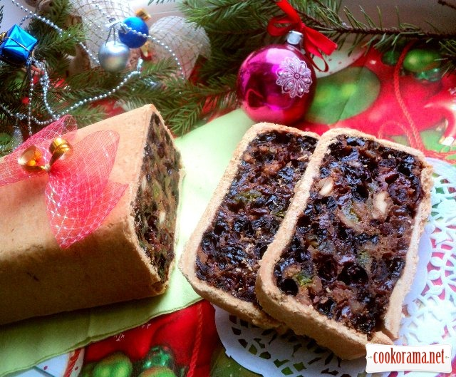 Шотландський новорічний кекс - Black Bun