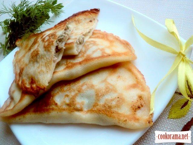 Блины с припеком, припеки для блинов, на Gastronom.ru